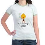 Optometry Chick Optometrist Jr. Ringer T-Shirt