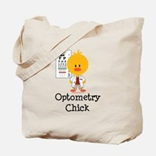 Optometry Chick Optometrist Tote Bag