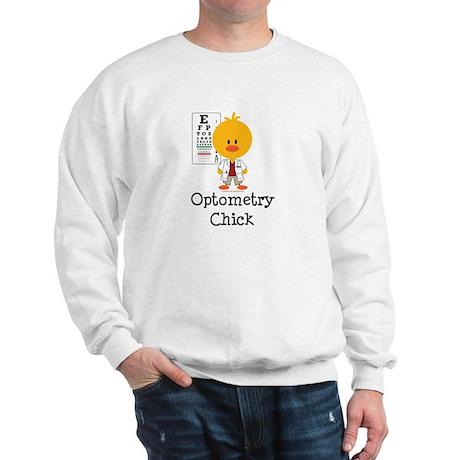 Optometry Chick Optometrist Sweatshirt
