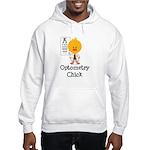 Optometry Chick Optometrist Hooded Sweatshirt
