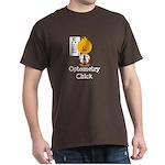 Optometry Chick Optometrist Dark T-Shirt