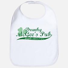 Drunky McGee's Pub - Drunk Since 1905 Bib