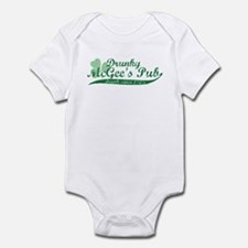 Drunky McGee's Pub - Drunk Since 1905 Infant Bodys