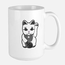 Lucky Cat w/Pink Nose Mug