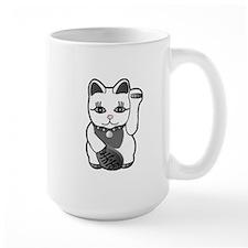 Lucky Cat w/Pink Nose Mug