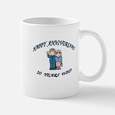HAPPY ANNIVERSARY 20 Mugs