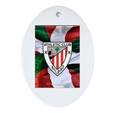 Cute Futbol Ornament (Oval)