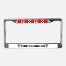 Cool Bilbao License Plate Frame