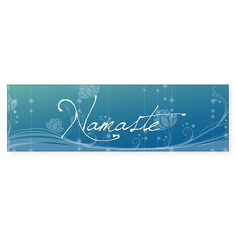 Namaste Sticker (Bumper)