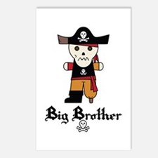 Pirate 1 Big Brother Postcards (Package of 8)