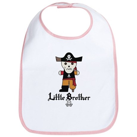 Pirate 1 Little Brother Bib