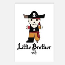 Pirate 1 Little Brother Postcards (Package of 8)