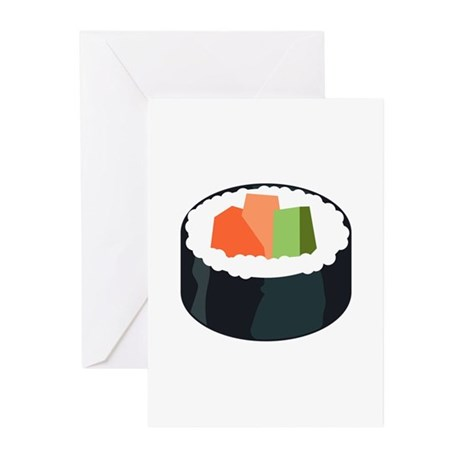 I Love Sushi Greeting Cards (Pk of 10)
