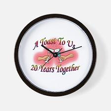 Cool Wedding anniversaries Wall Clock