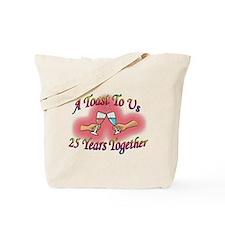 Cute 25th anniversary Tote Bag