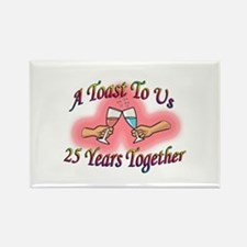 25th anniversary Rectangle Magnet