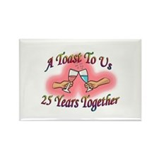 Cool Wedding anniversary party Rectangle Magnet (100 pack)