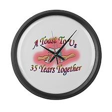 Couple Large Wall Clock