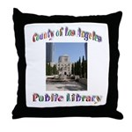Los Angeles Library Throw Pillow
