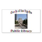 Los Angeles Library Sticker (Rectangle 50 pk)