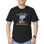 Los Angeles Library Men's Fitted T-Shirt (dark)