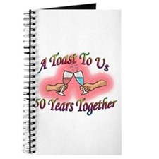 Cool 50th wedding anniversary party Journal