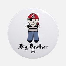 Pirate 4 Big Brother Ornament (Round)