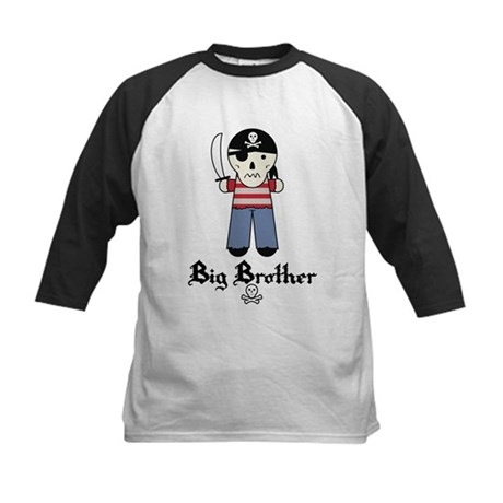 Pirate 5 Big Brother Kids Baseball Jersey