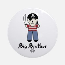 Pirate 5 Big Brother Ornament (Round)
