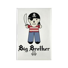 Pirate 5 Big Brother Rectangle Magnet