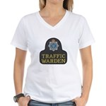 Sussex Police Traffic Warden Women's V-Neck T-Shir