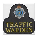 Sussex Police Traffic Warden Tile Coaster