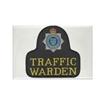 Sussex Police Traffic Warden Rectangle Magnet (10