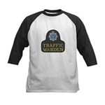 Sussex Police Traffic Warden Kids Baseball Jersey