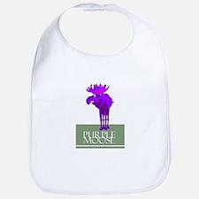 Purple Moose Bib