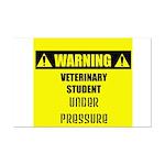 WARNING: Vet Student Under Pressure Mini Poster Pr