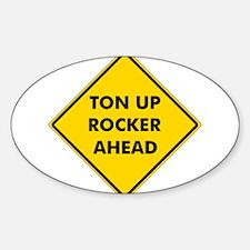Ton Up Rocker Decal