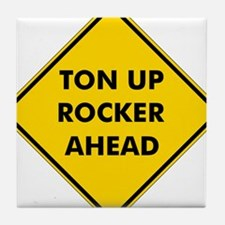 Ton Up Rocker Tile Coaster