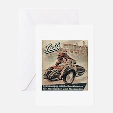 Sidecar Greeting Card