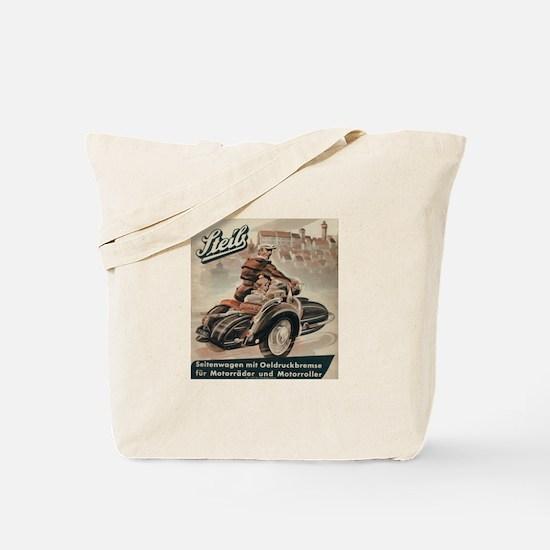 Sidecar Tote Bag
