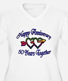 Unique 50th wedding anniversary party T-Shirt