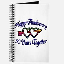 Funny 50th wedding anniversary Journal