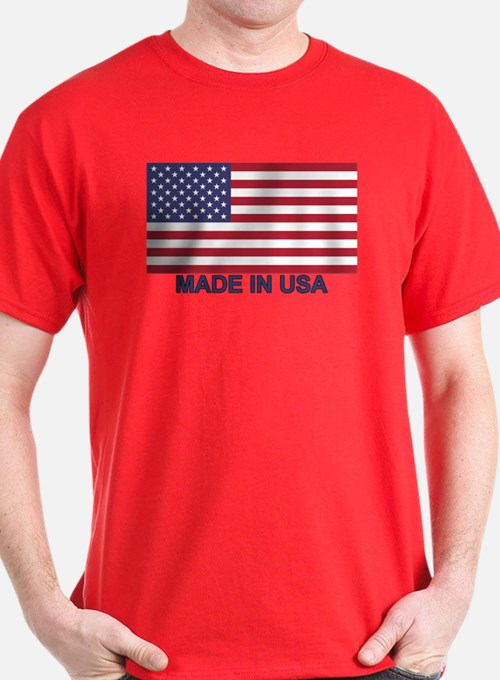 MADE IN USA (w/flag) T-Shirt