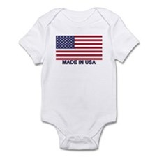 MADE IN USA (w/flag) Infant Bodysuit