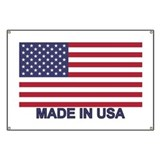 Made in america Banners