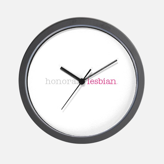 Unique Bisexual Wall Clock