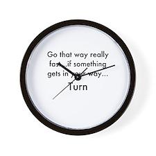 Funny The dead Wall Clock