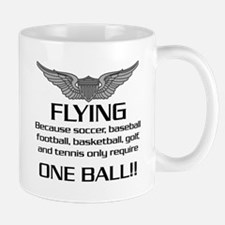 Flying... One Ball! - Army Style Mug