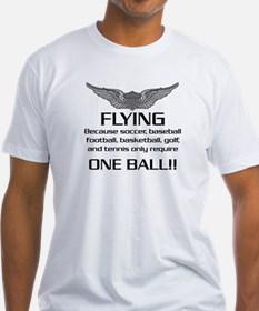 Flying... One Ball! - Army Style Shirt