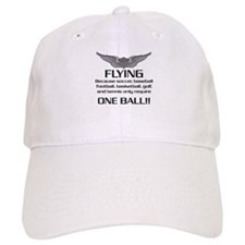 Flying... One Ball! - Army Style Baseball Cap